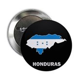 "Flag Map of Honduras 2.25"" Button (10 pack)"