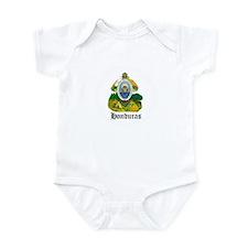 Honduran Coat of Arms Seal Infant Bodysuit