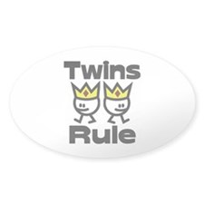 Twins Rule 2 Decal