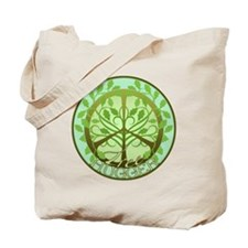 Peaceful Tree Hugger Tote Bag