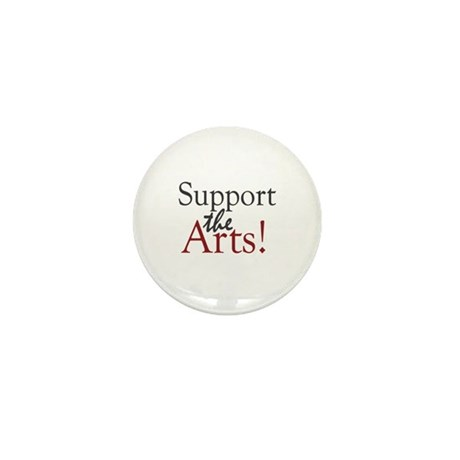Support the Arts Mini Button (10 pack)