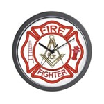 Mason Fire Fighter Wall Clock