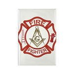 Mason Fire Fighter Rectangle Magnet (10 pack)