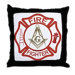 Mason Fire Fighter Throw Pillow