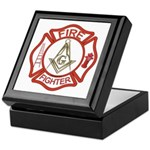 Mason Fire Fighter Keepsake Box