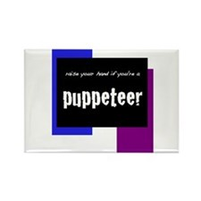 Unique Puppetry Rectangle Magnet