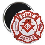 Brother Fire Fighter Magnet