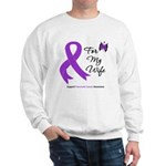 Pancreatic Cancer Wife Sweatshirt