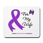 Pancreatic Cancer Wife Mousepad