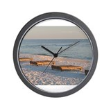 Seaside Beach Wall Clock