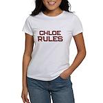 chloe rules Women's T-Shirt