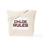 chloe rules Tote Bag