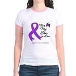 Pancreatic Cancer Son-in-Law Jr. Ringer T-Shirt