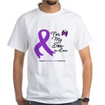Pancreatic Cancer Son-in-Law White T-Shirt