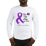 Pancreatic Cancer Son-in-Law Long Sleeve T-Shirt