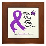 Pancreatic Cancer Son-in-Law Framed Tile