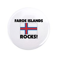 "Faroe Islands Rocks 3.5"" Button"