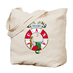 Mary J Mermaid Tote Bag