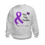 PancreaticCancer Mother Kids Sweatshirt