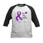 PancreaticCancer Mother Kids Baseball Jersey