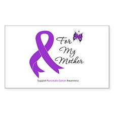 PancreaticCancer Mother Rectangle Decal