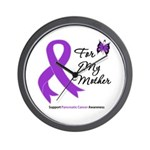 PancreaticCancer Mother Wall Clock