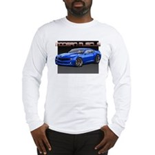 2010 Blue Camaro Long Sleeve T-Shirt