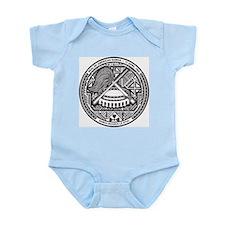American Samoa Coat Of Arms Infant Creeper