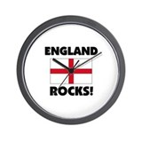 England Rocks Wall Clock