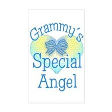 Grammy's Special Angel Rectangle Decal