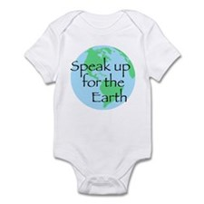 Speak Up For Earth Infant Bodysuit
