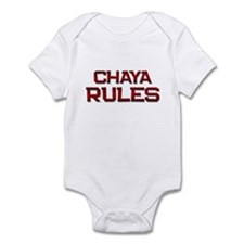 chaya rules Infant Bodysuit