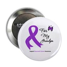 "Pancreatic Cancer Grandpa 2.25"" Button (10 pack)"