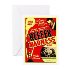 Marijuana Reefer Madness Greeting Cards (Pk of 20)
