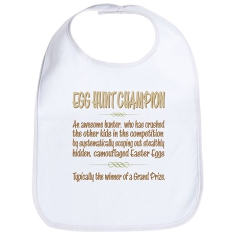 Easter Egg Hunt Champion Definition Bib