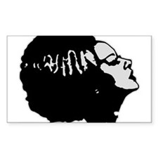 Frankies' Girl Rectangle Sticker 10 pk)