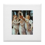 3 Graces Tile Coaster