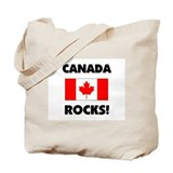 Canada Rocks Tote Bag