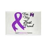 PancreaticCancer BestFriend Rectangle Magnet (10 p