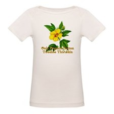 ORGANIC COTTON with Flower Organic Baby T-shirt