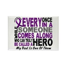 Hero Comes Along Dad Pancreatic Cancer Rectangle M