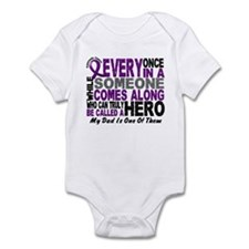 Hero Comes Along Dad Pancreatic Cancer Onesie