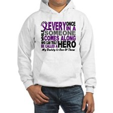 HERO Comes Along 1 Daddy PC Hoodie