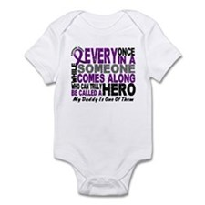 HERO Comes Along 1 Daddy PC Infant Bodysuit