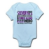 HERO Comes Along 1 Daddy PC Onesie