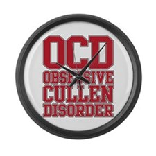 Unique Cullen Large Wall Clock