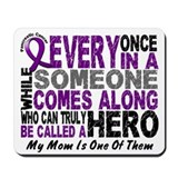 HERO Comes Along 1 Mom PC Mousepad
