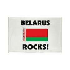 Belarus Rocks Rectangle Magnet
