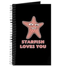 Starfish Loves You Journal