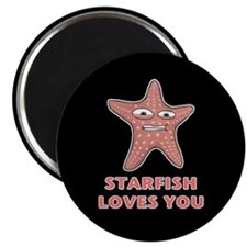 Starfish Loves You Magnet